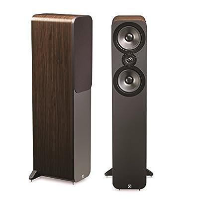Q Acoustics 3050 Floorstanding Speakers (Pair) (American Walnut) from Q Acoustics
