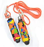 Sportif Skipping Rope with Length Adjustable for Kids, Girls, Women, Men for Exercise, Workout, Training and Weight Loss