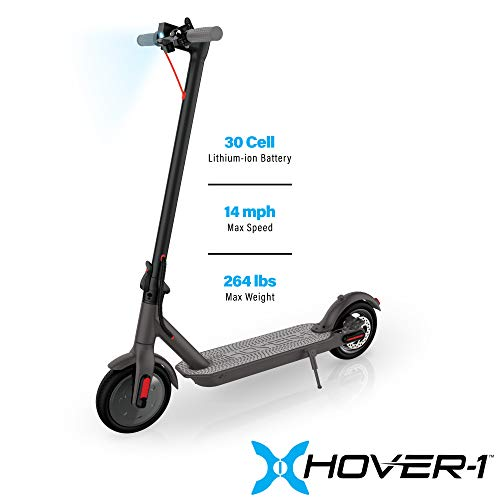 Hover-1 Journey Electric Folding Scooter, Black