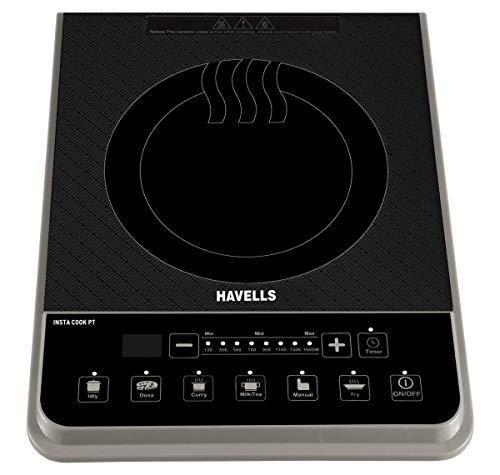 Havells Insta Cook PT 1600-Watt Induction Cooktop (Assorted Colors)