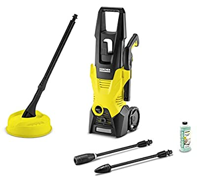 Kärcher 16018850 K 3 Home Pressure Washer, 1600 W, 240 V, Yellow/Black by Kärcher