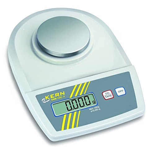 For Demand wlpc100 EMB Serie precisieweegschaal, 82 mm diameter platform schaal, weegschaal 100 g bereik, 0,001 g, 0,001 g reproduceerbaarheid