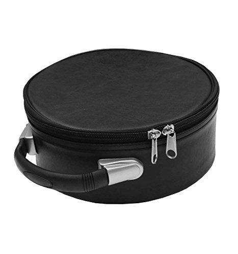 Masonic Regalia Cap Case Black for Double Eagle 32nd,33rd Degree Scottish Cap Black MB026
