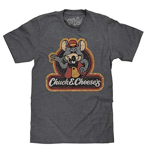 Chuck E Cheese's T-Shirt -Retro 70's Style