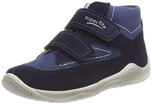 Superfit Baby Jungen Universe Sneaker, Blau (Blau 80), 21 EU