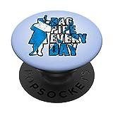 El gaitero escocés Escocia: Gaita todos los días! PopSockets PopGrip: Agarre intercambiable para Teléfonos y Tabletas