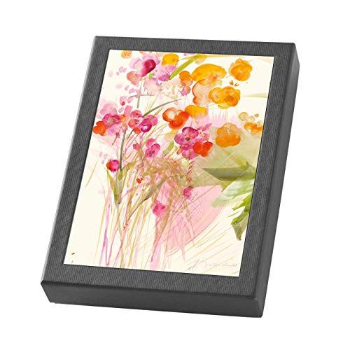 Blumen - Kartenset: 10 Faltkarten im Schmuckkarton