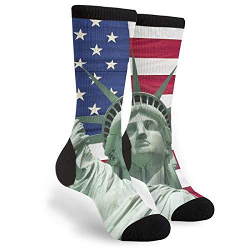 sdkjfg Bandera de EE. UU, La estatua de la libertad, cara de gato, gafas de sol, informal, genial, impreso en 3d, novedad gráfica, equipo