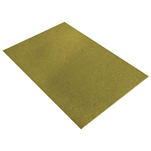 Rayher 5311914 Textilfilz, 30 x 45 x 0,4 cm, oliv, 100 % Polyester, Bastelfilz, Filzzuschnitt, Filzplatten