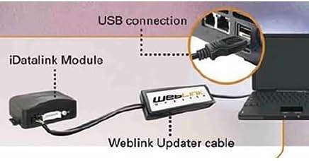 AutoPage ADSUSB Cable USB y controlador Actualizar (Negro)