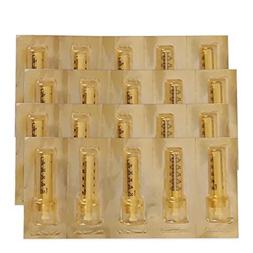 DEHOAD Professionnelle Ampoule 20pcs 0.3ml/0.5ml Acide Hyaluronique Tête D'ampoules Remplacement Hyaluron Pen Accessoires,20pcs 0.5ml