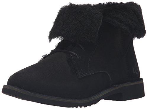 UGG Women's Quincy Winter Boot, Black, 8.5 B US