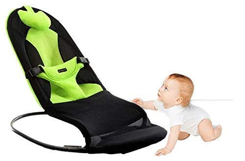 Tavalax Babywippe Balance Soft & Schaukelwippe (Green Deluxe)