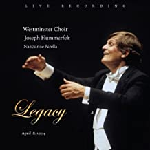 Legacy by Westminster Choir (2012-07-31)
