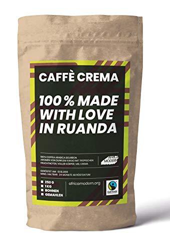 CAFFÈ CREMA, 250 g, 100 % Made with love in Ruanda