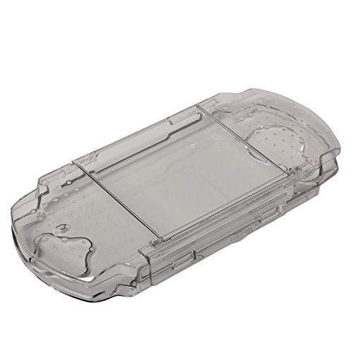 Timorn Clear Crystal Hard Case Transparent Protective Cover Shell for Sony PSP2000 PSP3000 Console (Color)