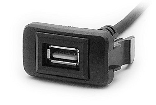 CARAV 17-003 USB Verlängerung Kabel Buchse für Einbau Single USB Switch Hole Cover