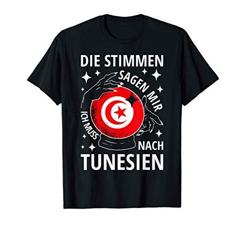 Tunesien Fahne Reise Spruch Tunisia Geschenke Tunesien T-Shirt