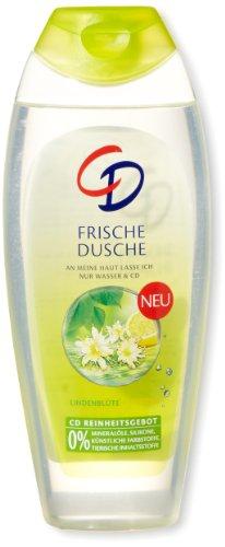 CD Frische Dusche Lindenblüte + Zitrone, 250 ml