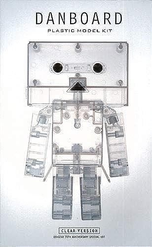 [Dengeki 20th Anniversary Limited] Yotsuba&   Danbo (Clear ver.) (Plastic kit)