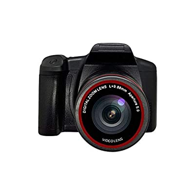 Digital Camera Vlogging Camera Video Camera, 1080P Ultra HD LCD Screen 2.4 Inch 16X Digital Zoom, Anti-Shake Cameras for Kids/Teenager/Seniors/Learner/Beginners by COZHYESS
