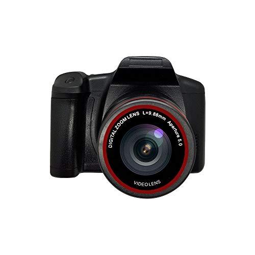 Videocamera digitale Videocamera Vlogging Videocamera, schermo LCD Ultra HD 1080P Zoom digitale 16X da 2,4 pollici, fotocamere antivibrazioni per principianti