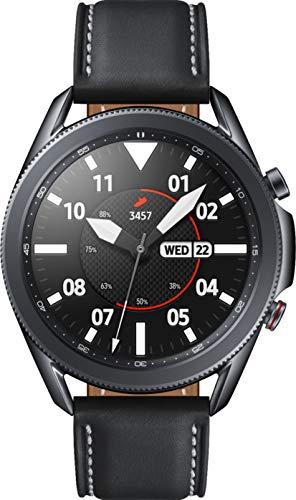 Reloj inteligente Samsung Galaxy Watch3 Watch 3 (GPS, Bluetooth, LTE) con control avanzado de salud, seguimiento de la actividad física y batería de larga duración (negro, 45 mm) (renovado)
