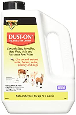Bonide Products Fly, Lice & Tick Control Dust-On, 4 lb by GB Industrial Direct