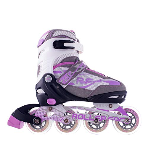 Rollerface Patines Modelo Switch 3, Color Lila, Chico