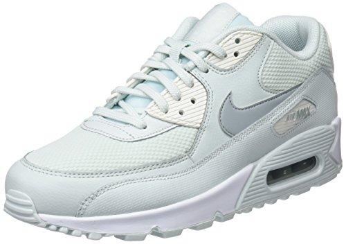 Nike Air MAX 90, Zapatillas de Gimnasia Mujer, Negro (Barely Grey/Light Pumice/Sail 053), 35.5 EU