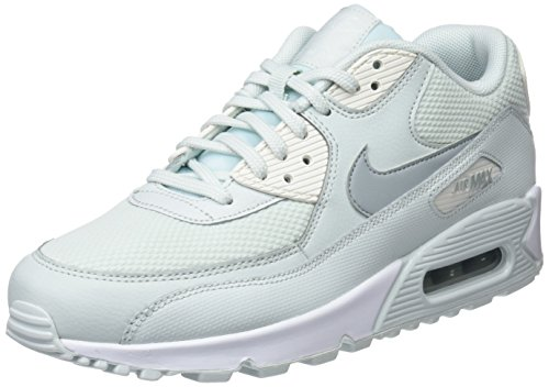 Nike Air Max 90, Scarpe da Ginnastica Donna, Nero (Barely Grey/Light Pumice/Sail 053), 35.5 EU