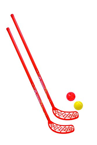 Schildkröt Fun-Hockey Set, 2 Hockey Schläger, 2 Bälle Ø70cm, 970135