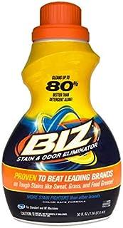 Biz Stain & Odor Eliminator Liquid, 50 fl oz Pack of 2