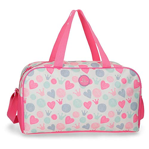 Roll Road Queen Bolsa de Viaje, Multicolor, 45 cm