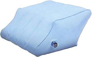 SFeng - Almohada inflable de cuña para piernas (PVC), diseño de espina dorsal relajada, almohada para dormir para casa o oficina
