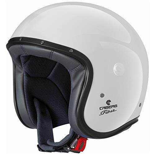 Caberg - Casco Jet Freeride, color blanco XXL blanco
