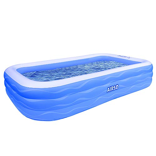 Inflatable Family Full-Sized Inflatable Swimming Pool Now $87.95 (Was $150)