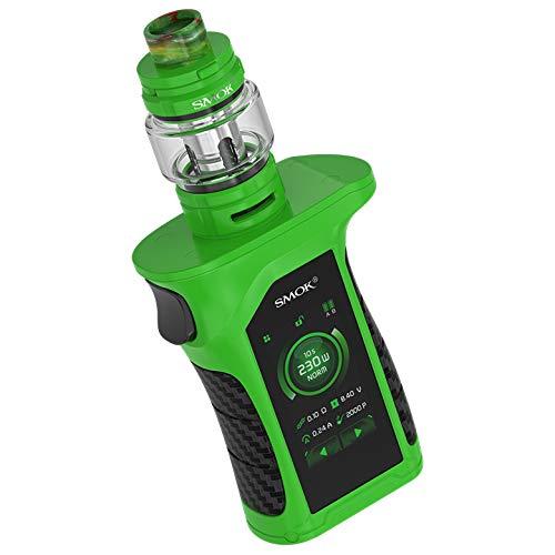 SMOK Mag P3 Kit E-Zigarette 230W mit TFV16 Tank 9ml Standard Edition 1 x Enthält BTKSY-Schlüsselanhänger/kein Nikotin - kein Rauchöl (Green black)