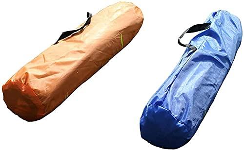 WDZJM Tienda de campaña, Deportes de luz portátil al Aire Libre Camping Coge Tienda de Carpa Mochila Tienda (Color : Orange)