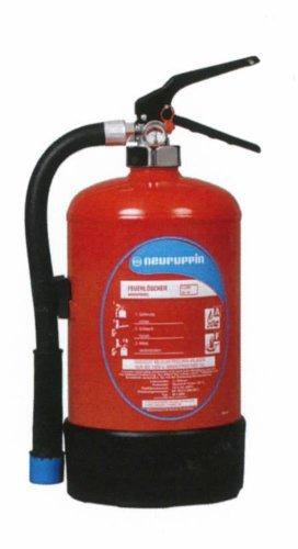 FLN Neuruppin Wassernebellöscher W2WNL (2 Liter) Fettbrandlöscher Haushaltslöscher Manometer Instandhaltungsnachweis