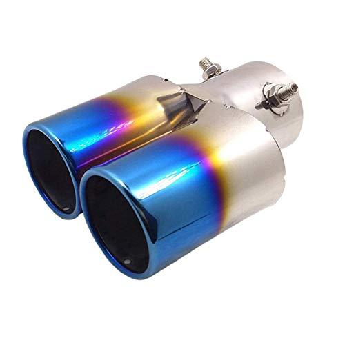 Universal Blue 6.0 Edelstahl Top Polier und Galvanisierungsprozess AutoSchalldämpfer Auspuffrohr Heckkehle