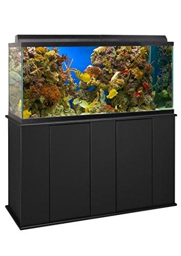 Aquatic Fundamentals, 75/90 Gallon, Black Upright Aquarium Stand, Made in The USA