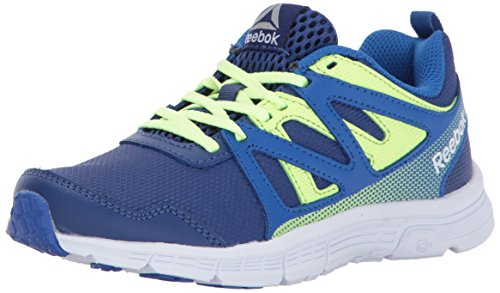 Reebok Kinder Run Supreme 2.0 Sneaker, Blau (Vital Blue/Deep Cobalt/El), 16 EU