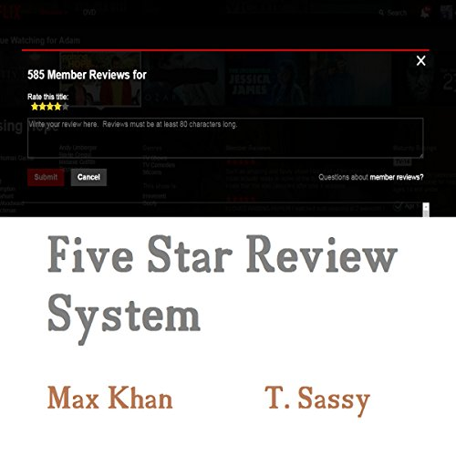 Five Star Review System audiobook cover art