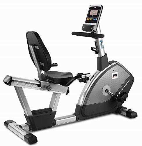 BH Fitness i.TFR Ergo H650I Bicicleta reclinada - Semiprofesional - 12Kg Volante de inercia -...