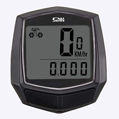 MLYWD Durable Stopwatch fiets waterdichte kabel multifunctionele fiets LCD-computer snelheidsmeter fiets kilometerteller stopwatch, fiets snelheidsmeter fiets realtime snelheid track en afstand