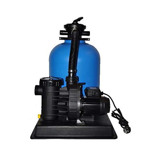Sandfilteranlage PoolsBest BL Ø 400mm mit Aqua Plus 6 m³/h
