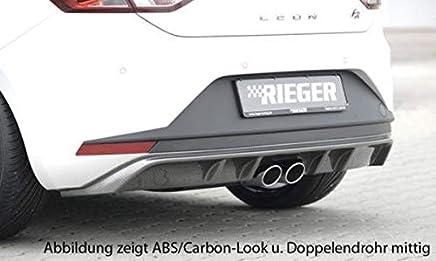 Rieger - Pieza Trasera para Seat Leon FR (5F): 01.13-12.16 (