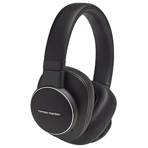 Harman Kardon Fly ANC Wireless Bluetooth Over-Ear Headphones with Active Noise Cancelling - Google Voice Assistant - Alexa Built-in (Retail Packaging)