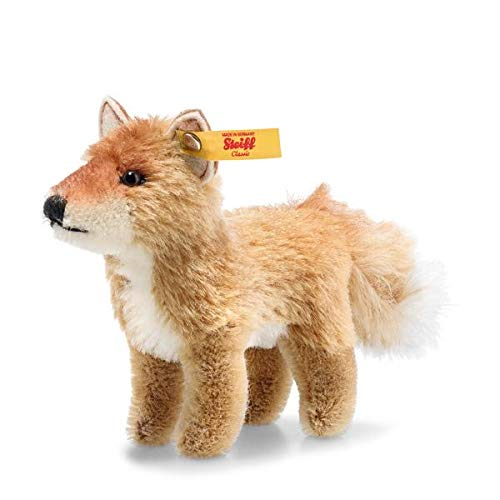 Steiff 033544 National Geographic Mohair Fox in Gift Box